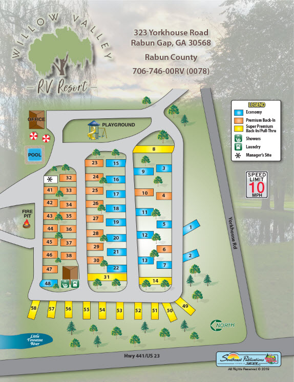 willow-valley-rv-resort-resort-map